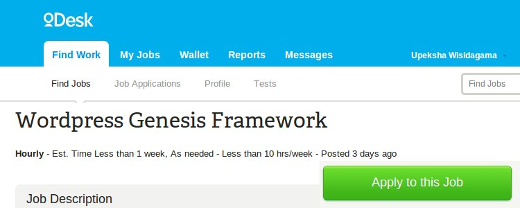 Genesis Framework Customization